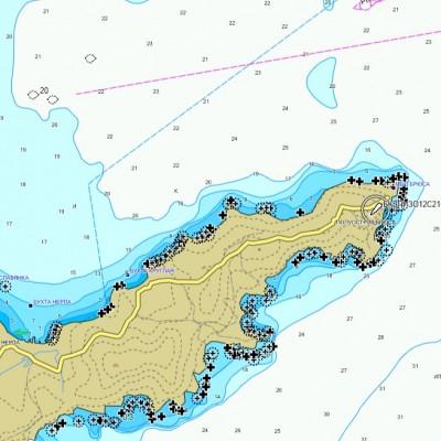 Обновление карты Залива Петра Великого для навигационного оборудования Garmin